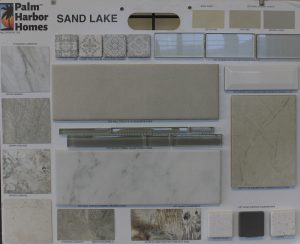 Tile and Counter top options (manufactured home)